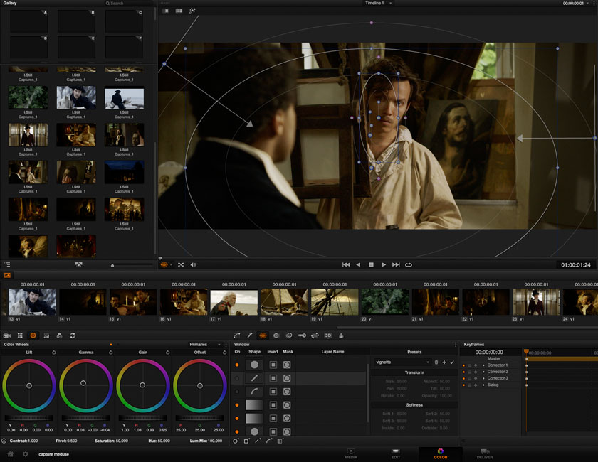 Etalonneur sur Davinci Resolve : fiction, clip, pub, documentaire.
